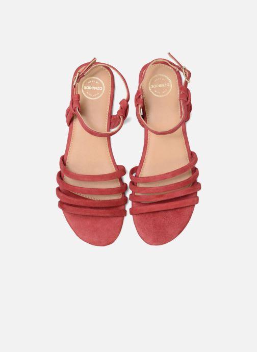 Sandalias Made by SARENZA Bombay Babes Sandales Plates #5 Rojo vista del modelo