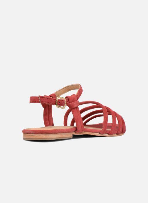 Sandalias Made by SARENZA Bombay Babes Sandales Plates #5 Rojo vista de frente