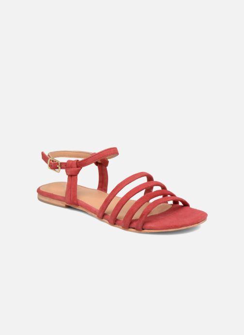 Sandalias Made by SARENZA Bombay Babes Sandales Plates #5 Rojo vista lateral derecha