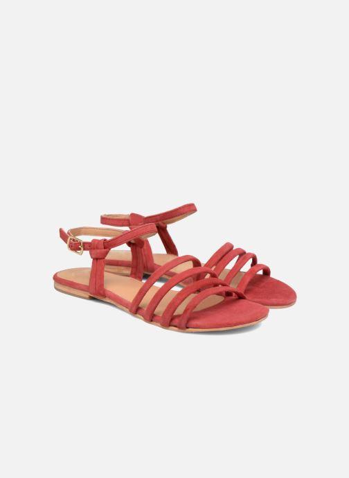 Sandalias Made by SARENZA Bombay Babes Sandales Plates #5 Rojo vistra trasera