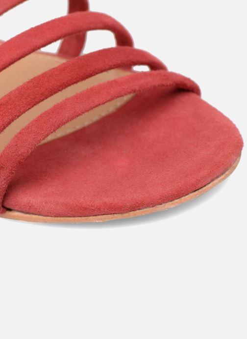 Sandalias Made by SARENZA Bombay Babes Sandales Plates #5 Rojo vista lateral izquierda