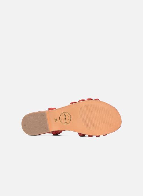 Sandalias Made by SARENZA Bombay Babes Sandales Plates #5 Rojo vista de arriba