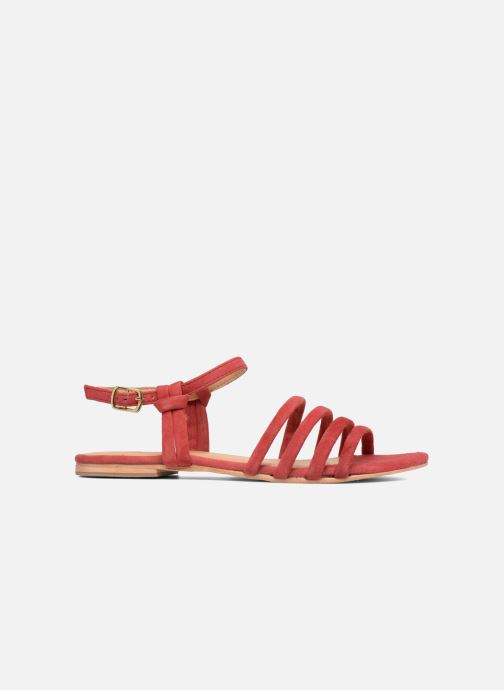 Sandalias Made by SARENZA Bombay Babes Sandales Plates #5 Rojo vista de detalle / par