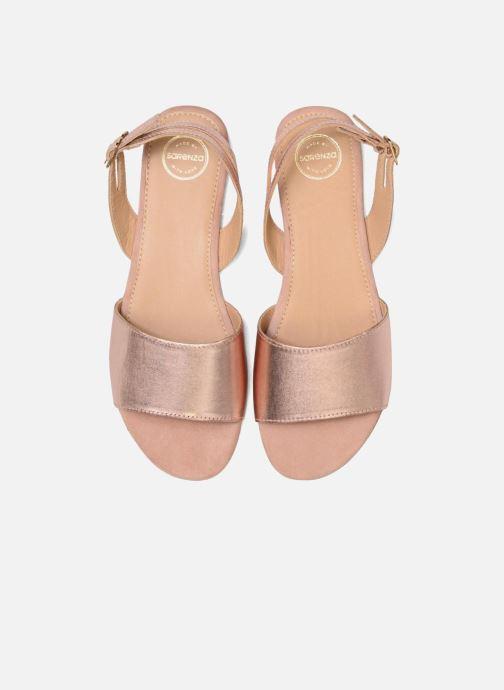 Sandales et nu-pieds Made by SARENZA Carioca Crew Sandales Plates #4 Rose vue portées chaussures