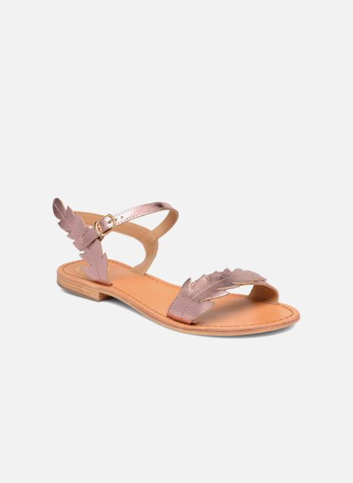 Sandales et nu-pieds Made by SARENZA Carioca Crew Sandales Plates #4 Rose vue droite