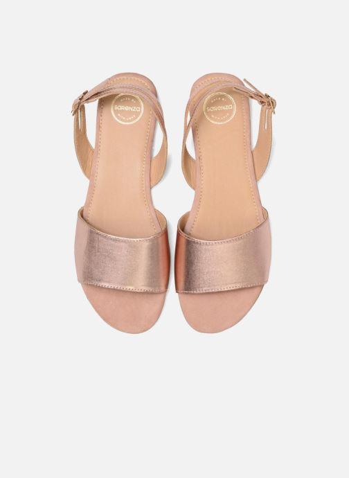 Sandales et nu-pieds Made by SARENZA Carioca Crew Sandales Plates #5 Or et bronze vue portées chaussures