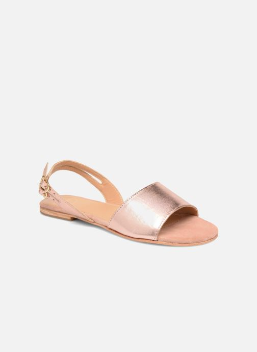 Sandales et nu-pieds Made by SARENZA Carioca Crew Sandales Plates #5 Or et bronze vue droite
