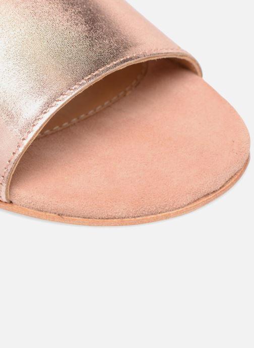 Sandales et nu-pieds Made by SARENZA Carioca Crew Sandales Plates #5 Or et bronze vue gauche