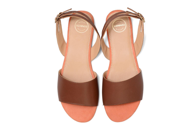 Sandalen Made by SARENZA Carioca Crew Sandales Plates #5 braun schuhe getragen