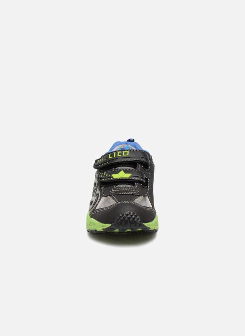Sneaker LICO Adrian V Blinky schwarz schuhe getragen