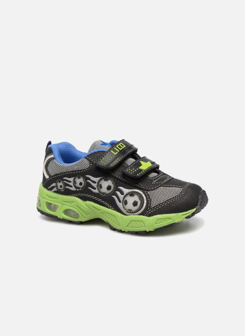Sneaker LICO Adrian V Blinky schwarz detaillierte ansicht/modell