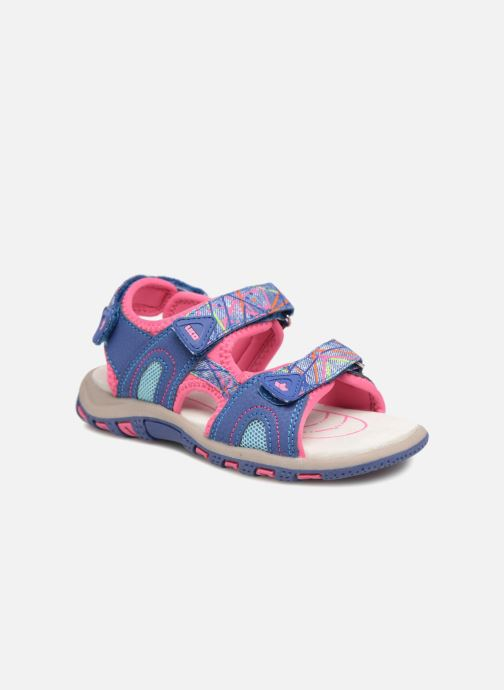 Sandals LICO Luca V Purple detailed view/ Pair view
