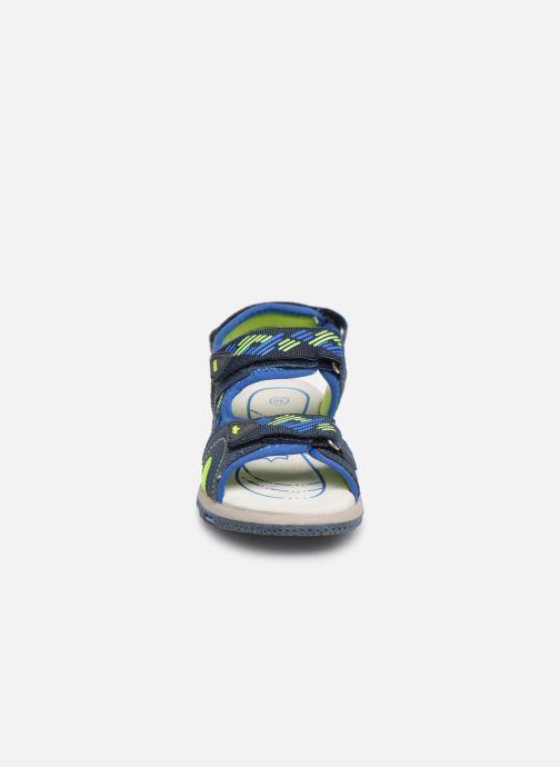 Sandales et nu-pieds LICO Luca V Bleu vue portées chaussures