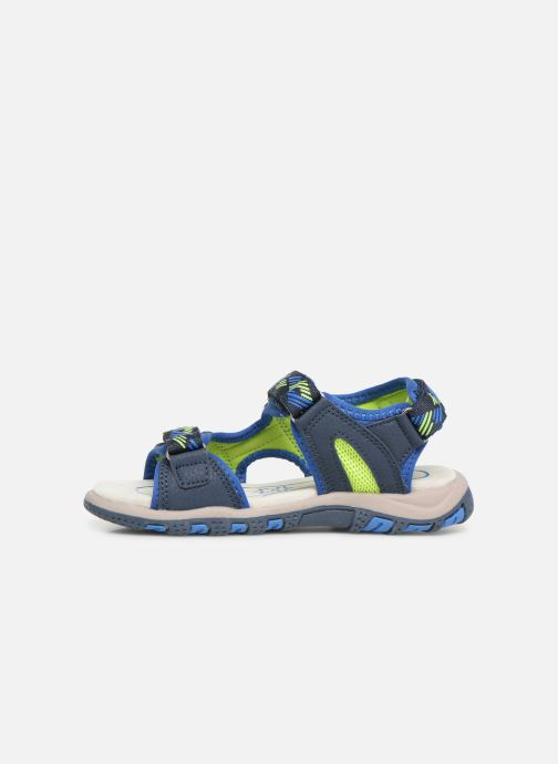 Sandales et nu-pieds LICO Luca V Bleu vue face