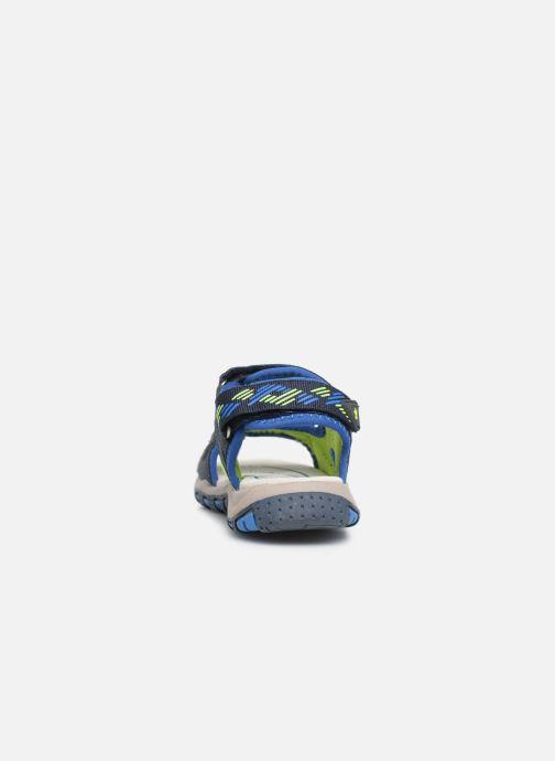 Sandales et nu-pieds LICO Luca V Bleu vue droite