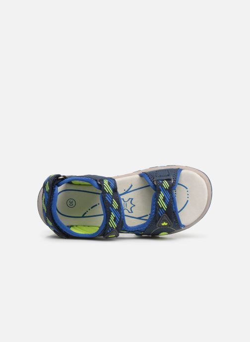 Sandals LICO Luca V Blue view from the left