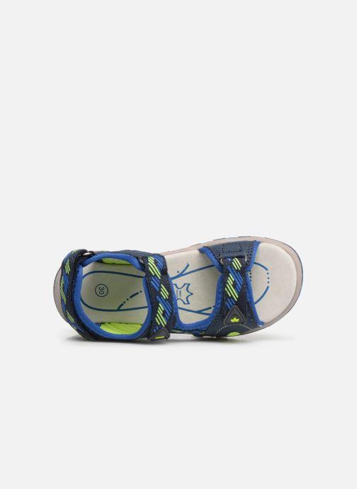 Sandales et nu-pieds LICO Luca V Bleu vue gauche