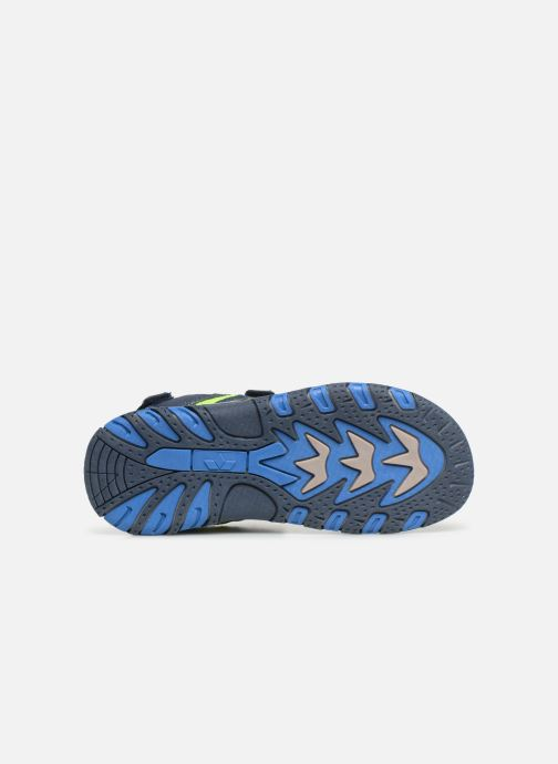 Sandales et nu-pieds LICO Luca V Bleu vue haut