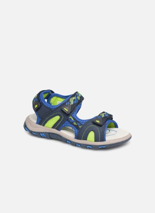 Sandals LICO Luca V Blue detailed view/ Pair view