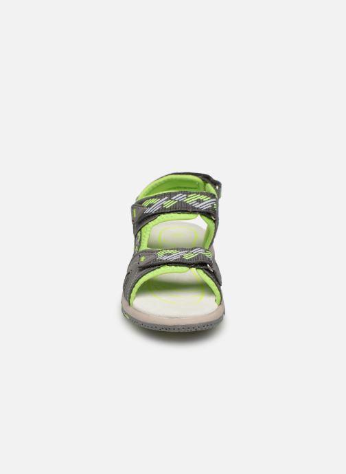 Sandales et nu-pieds LICO Luca V Vert vue portées chaussures