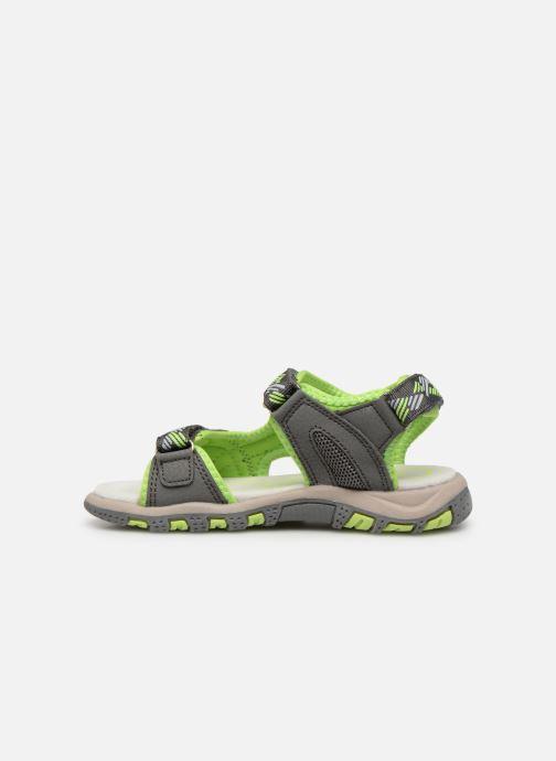 Sandales et nu-pieds LICO Luca V Vert vue face