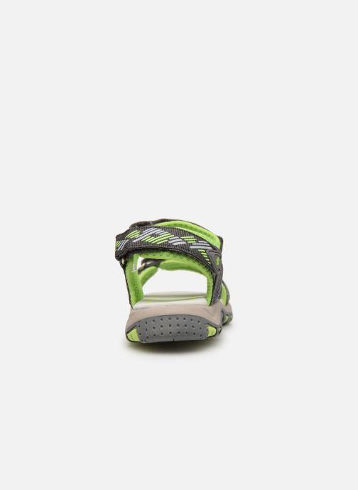 Sandales et nu-pieds LICO Luca V Vert vue droite