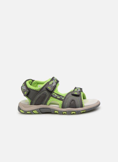 Sandales et nu-pieds LICO Luca V Vert vue derrière