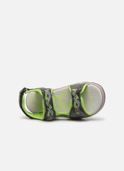 Sandales et nu-pieds LICO Luca V Vert vue gauche