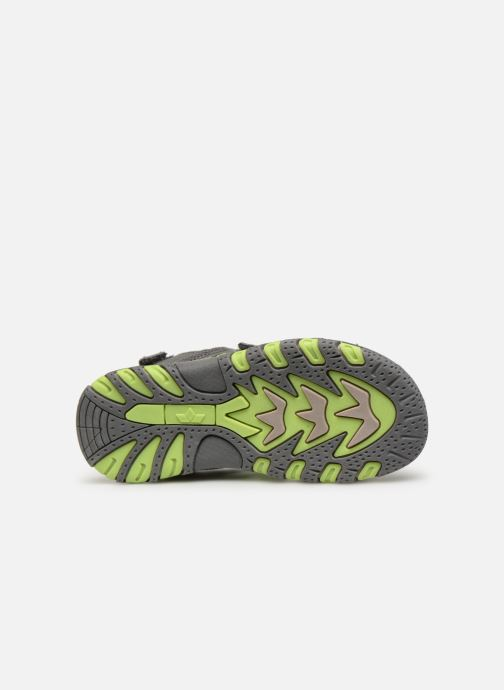 Sandales et nu-pieds LICO Luca V Vert vue haut