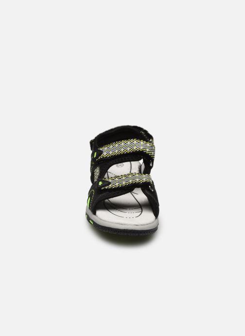 Sandales et nu-pieds Lico Luca V Noir vue portées chaussures