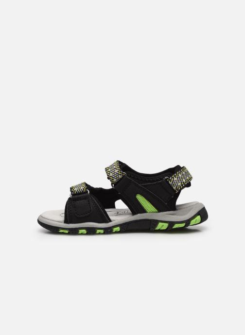 Sandales et nu-pieds Lico Luca V Noir vue face