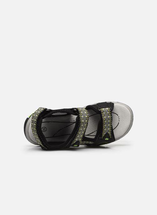Sandales et nu-pieds Lico Luca V Noir vue gauche