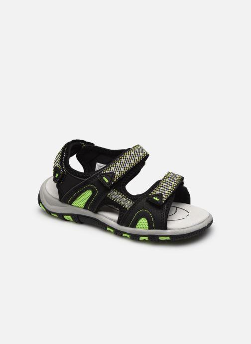 Sandales et nu-pieds Lico Luca V Noir vue détail/paire