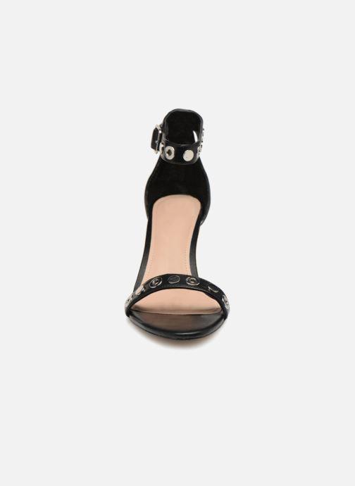 Sandales et nu-pieds Guess Narele Noir vue portées chaussures