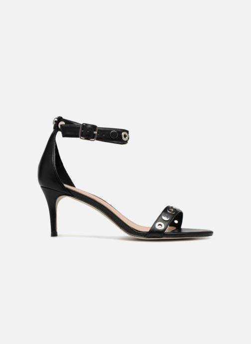 Sandales et nu-pieds Guess Narele Noir vue derrière