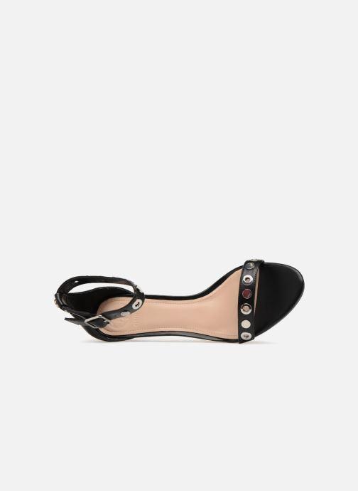 Sandales et nu-pieds Guess Narele Noir vue gauche