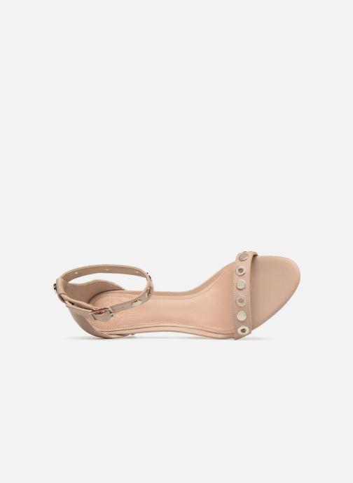 Sandales et nu-pieds Guess Narele Beige vue gauche
