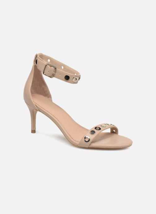 Sandales et nu-pieds Guess Narele Beige vue détail/paire