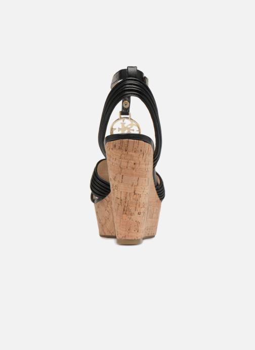 Sandales et nu-pieds Guess Gilian Noir vue droite