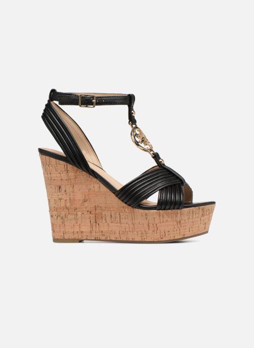 Sandales et nu-pieds Guess Gilian Noir vue derrière