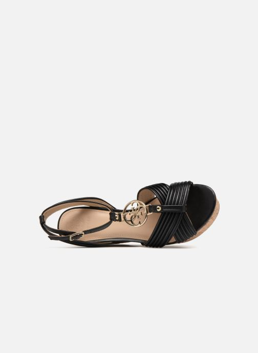 Sandales et nu-pieds Guess Gilian Noir vue gauche