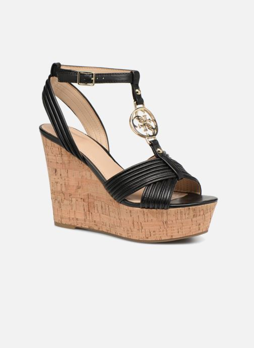 Sandales et nu-pieds Guess Gilian Noir vue détail/paire