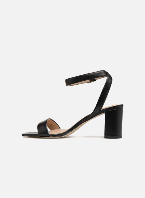 Sandales et nu-pieds Guess Annabelle Noir vue face