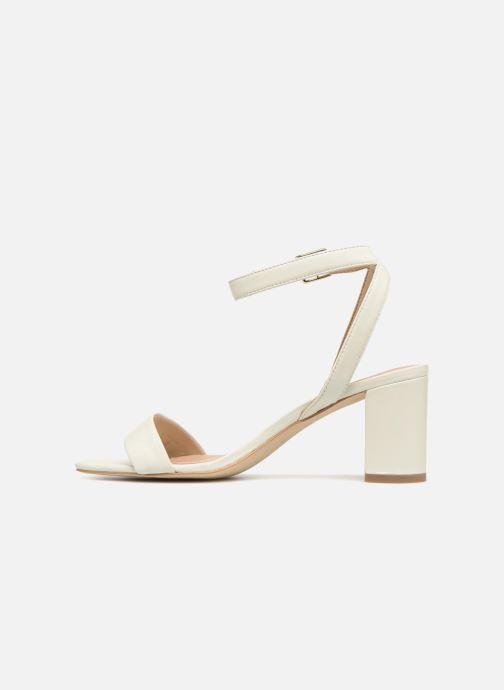 Sandales et nu-pieds Guess Annabelle Blanc vue face