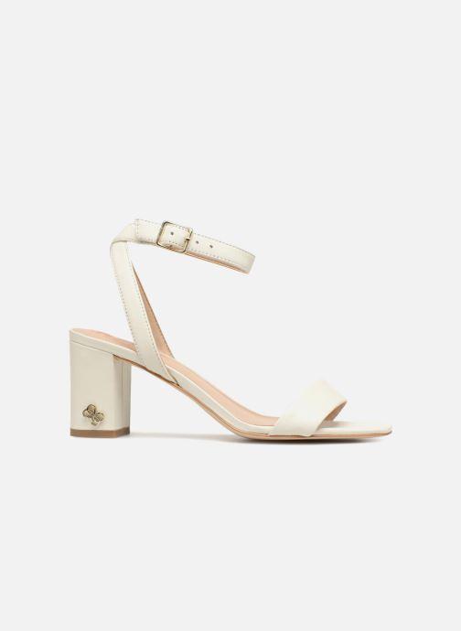 Sandales et nu-pieds Guess Annabelle Blanc vue derrière