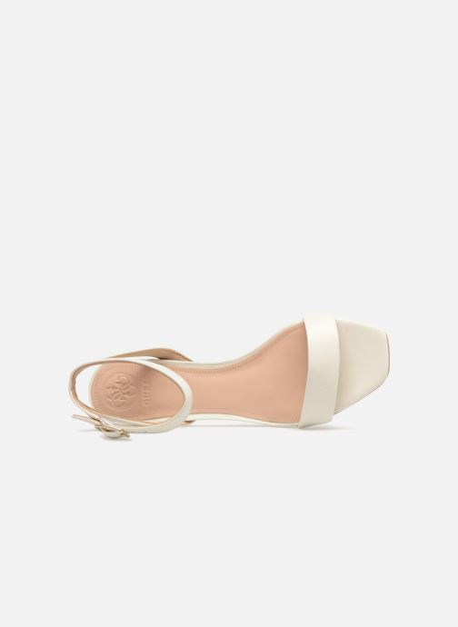 Sandales et nu-pieds Guess Annabelle Blanc vue gauche