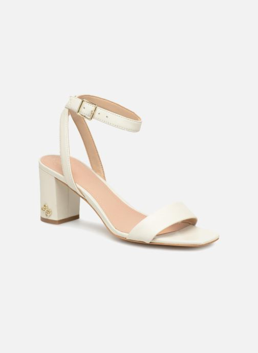 Sandales et nu-pieds Guess Annabelle Blanc vue détail/paire
