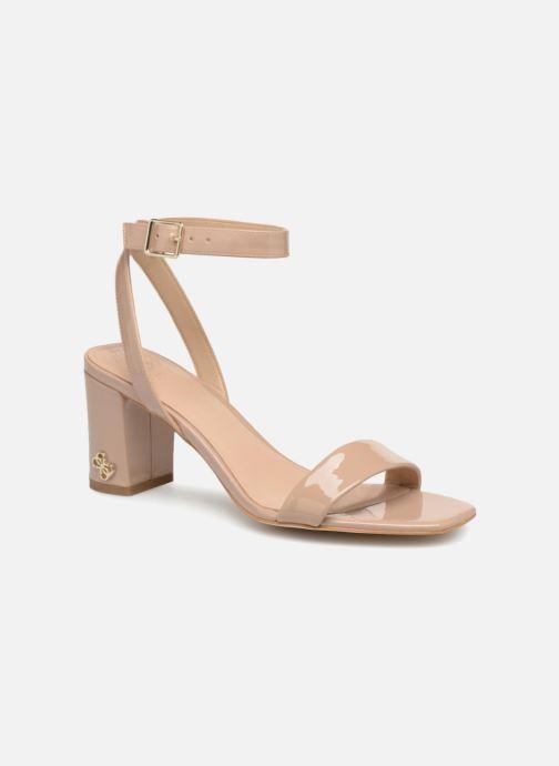 Sandales et nu-pieds Guess Annabelle Beige vue détail/paire