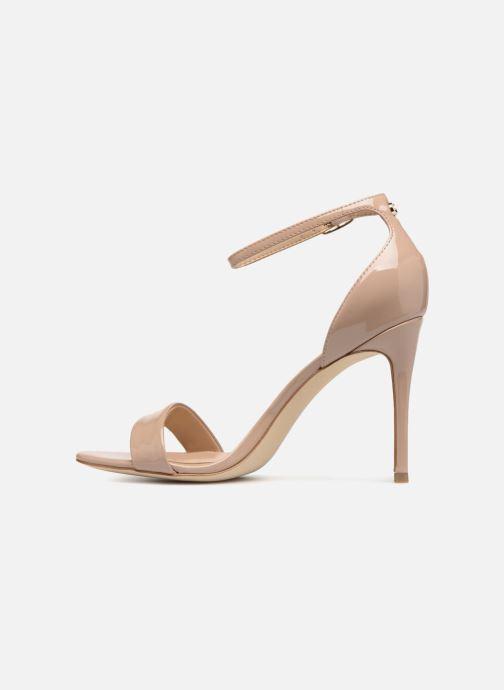 Sandales et nu-pieds Guess Karli Beige vue face