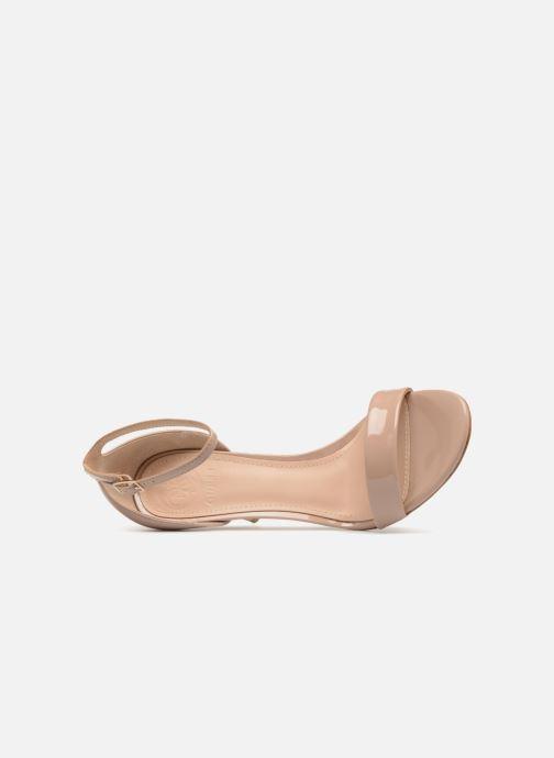 Sandales et nu-pieds Guess Karli Beige vue gauche
